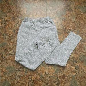 Anthropologie - zipper leggings - Small